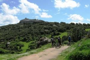Escursioni in bicicletta nel sud est della Sardegna