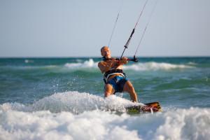 Kitesurfing Villasimus, Sardegna - S'incantu Resort